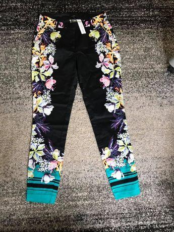 Kwieciste spodnie Lindex