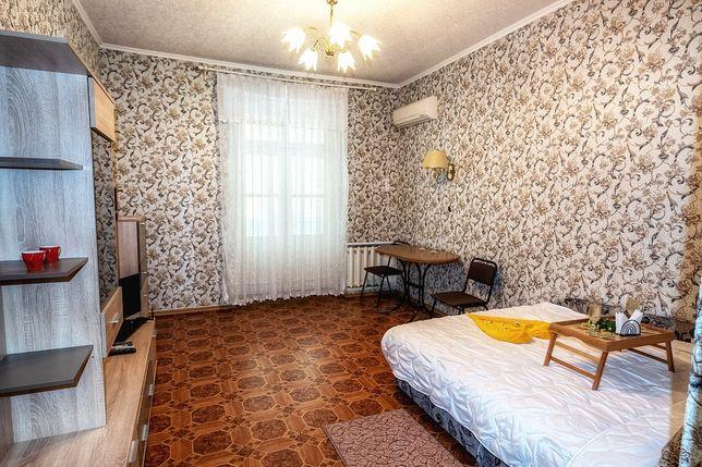 Уютная двухкомнатная квартира в самом ЦЕНТРЕ ГОРОДА! СОБОРНАЯ!ПАРКОВКА