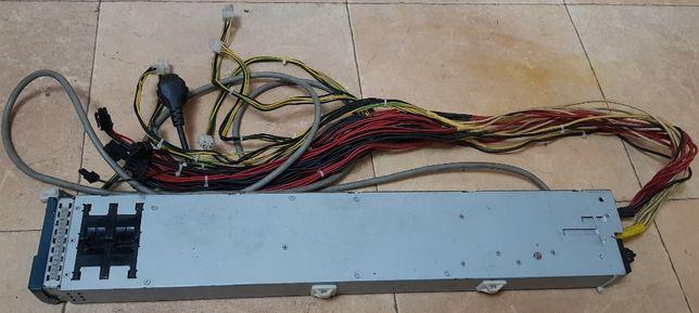 Блок питания 2500W Delta AHF-2DC-2500W серверный распаянный на 6 карт