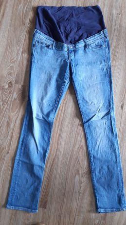 Jeansy spodnie ciążowe H&M r.46 jak nowe