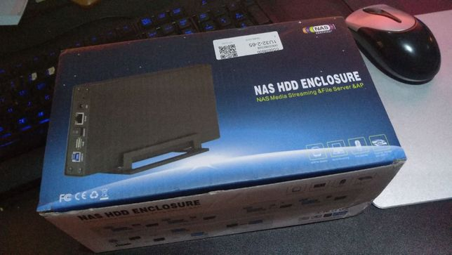 Caixa de Armazenamento NAS Cloud LAN
