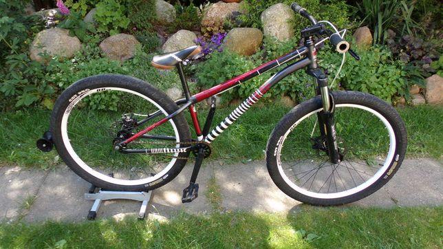 rower umf merida harde steel 2 koła 26 amortyzator