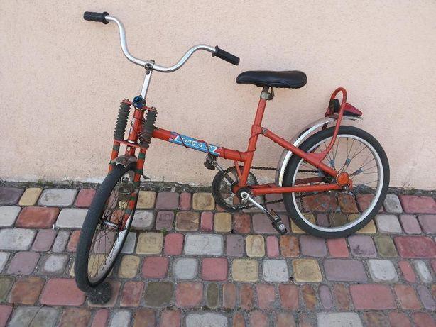 Велосипед подростковый руль колесо педаль катафоты