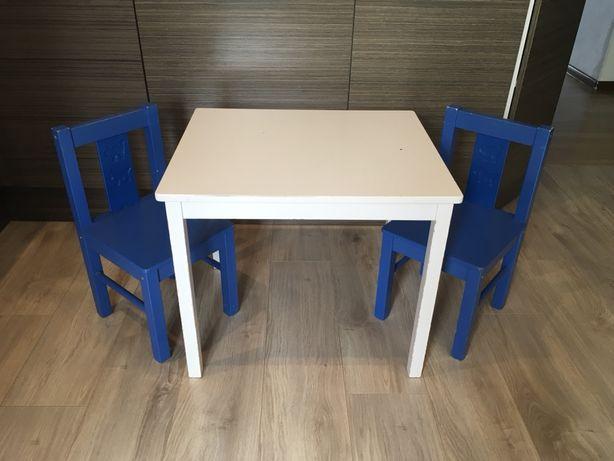 Детский столик и два стульчика IKEA KRITTER