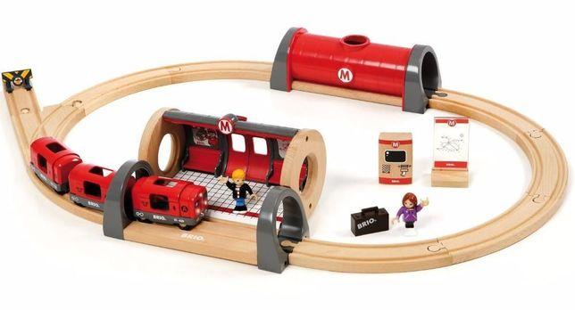 Brio (Брио) 33513 деревянная железная дорога Metro