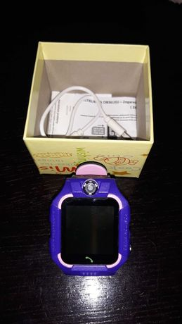 Zegarek Smartwach dla dzieci , GPS, aparat, lokalozacja, telefon.