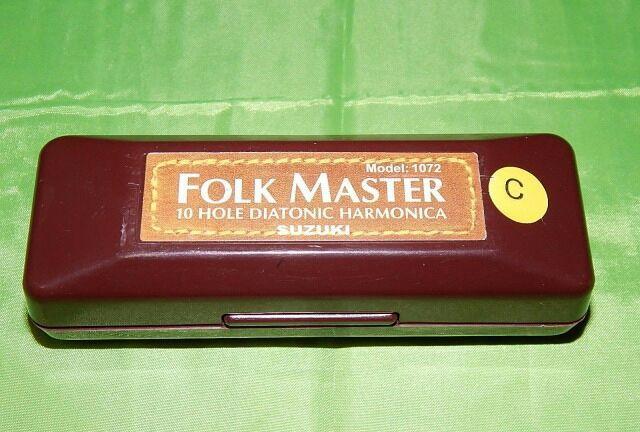 Губная Гармошка Suzuki Folkmaster