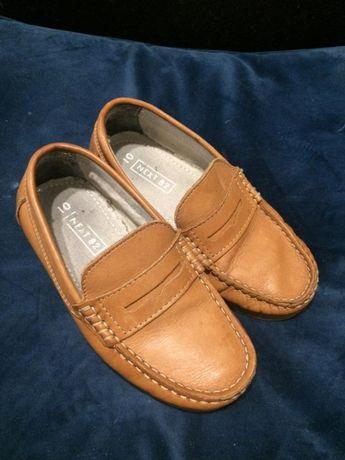 Next 82 кожаные мокасины туфли стелька 17.5 см