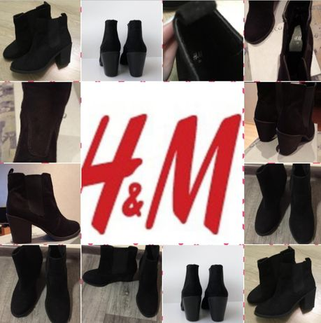 Ботинки весна осень 24~24,5 H&M