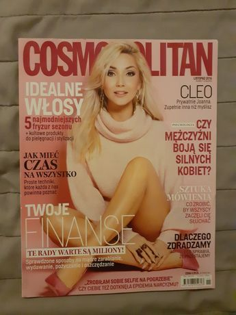 Cosmopolitan Numer 11 (234) Listopad 2016 - Cleo - Unikat