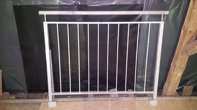 Balkon Francuski/Barierka Ocynk/ 150 x 120 Balustrada Ocynk Zewn/Wewn.