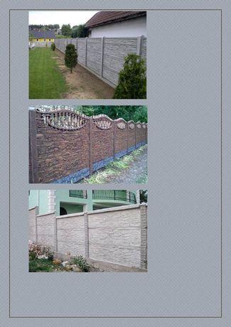 Painéis de betão para vedações pré-fabricados