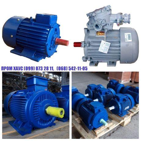Электродвигатель б.у 5.5квт,7.5,11,15,,22,30,37,45,55 електродвигатель