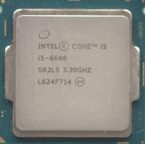 Процессор i5 6600 3.3GHz 6Mb Intel Core 1151 SR2L5 | Гарантия 1 Год