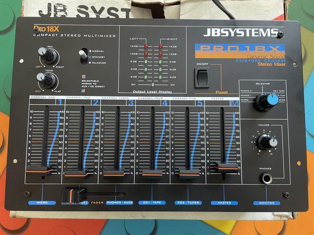 Jb systems - Pro18x - Misturador de DJ