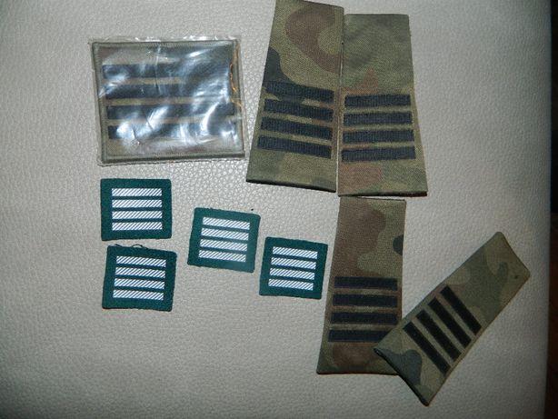 dystynkcje wojskowe plutonowy,podporucznik