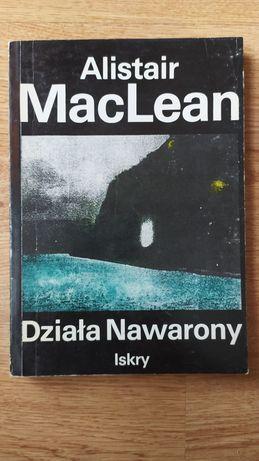 """Książka """"Działa Nawarony"""" Alistair MacLean"""