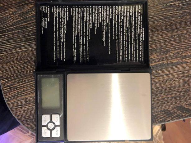 Весы ювелирные электронные Notebook Series Digital Scale до 2000 г