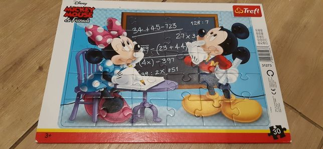 Puzzle dla 3 latka