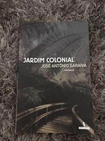 Livro Jardim Colonial de José António Saraiva