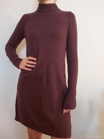 Sukienka swetrowa Benetton 100%wełna merino
