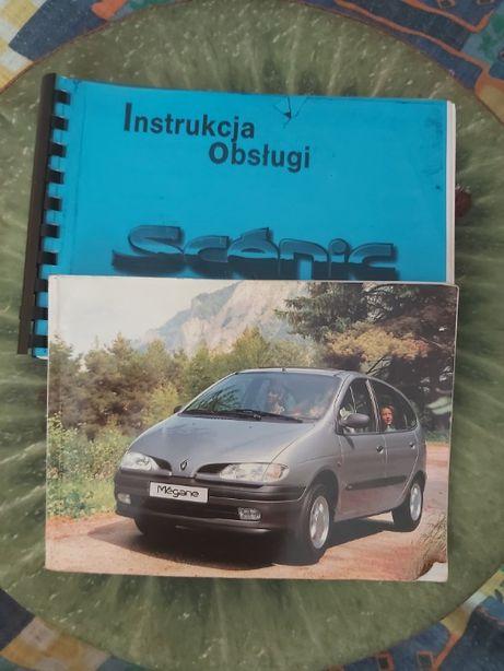 Sprzedam Instrukcjię Do Renualt Scenic 96-99r. Po polsku.
