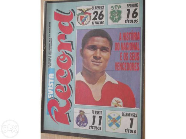 "Revista ""record"" 1992"