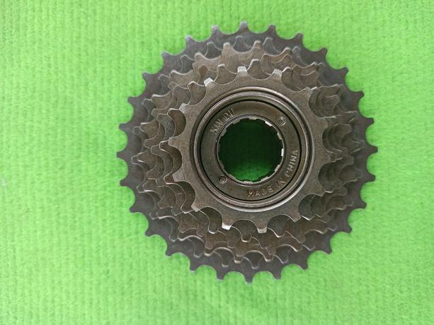 Задняя звезда для горного велосипеда (трещетка) 7звезд