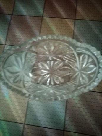 Хрустальная конфетница-салатница