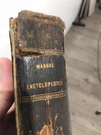 Livro antigo enciclopedia