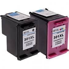 Tinteiros HP 301XL Genéricos Preto + Cores - Selados