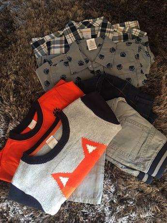 Zara, Gymboree, spodnie koszula sweter, 2 latka!