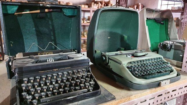 Maquinas de escrever antigas