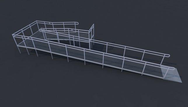 Виготовлення пандусів підйомників та ліфтів для інвалідів.Пандус ДСТУ