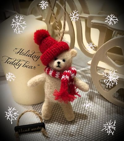 "Новогодний декор "" Holiday Teddy bear """