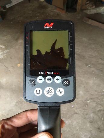 Еквiнокс-800 металошукач.