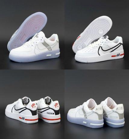 Кроссовки Nike Air Force 1 React 36-45 Киев! Хит Осени! Наложка! Топ