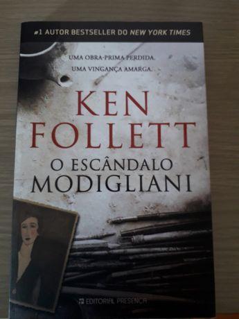 """Livro """"O Escândalo de Modigliani"""""""
