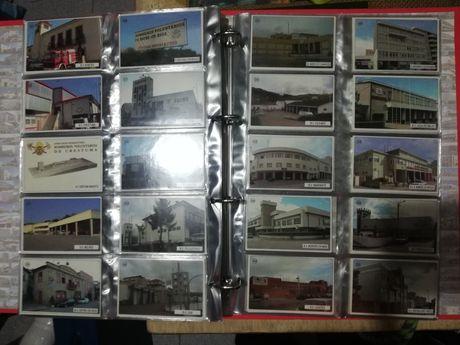 Álbum c/ Colecção Completa 501 Calendários Quartéis de Bombeiros 2004