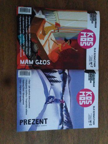 Kosmos dla dziewczynek czasopismo magazyn