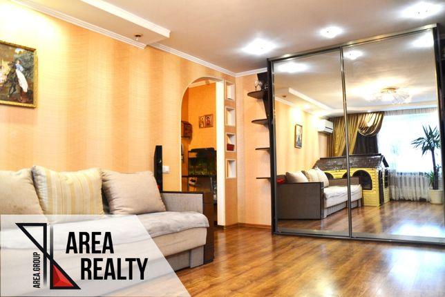 """3- кімнатна квартира з євроремонтом та меблями. Мікрорайон """"жовтневий"""""""