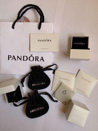 Pandora Пандора Оригинал маленькая коробочка, салфетки, мешочки пакет