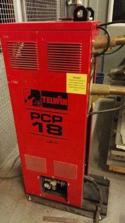 Zgrzewarka stacjonarna TELWIN PCP 18 w zestawie z chłodnicą.
