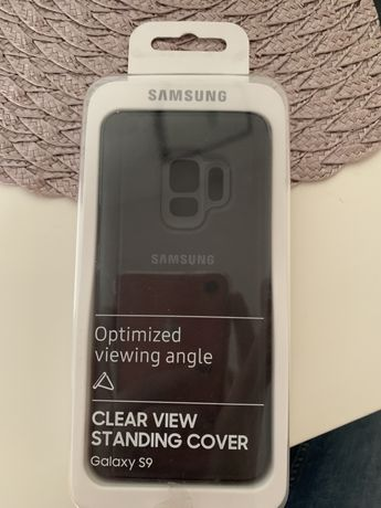 Cover Samaung Samsung S9 clear view standing cover