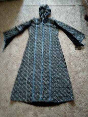 Sukienka orientalna arabska czarno-niebieska
