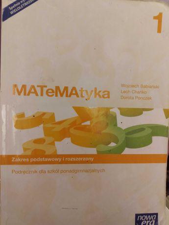 Podręcznik Matematyka 1 nowa era zakres podstawowy i rozszerzony