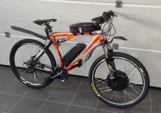 Szybki 50+kmh Ebike Full rower Górski Elektryczny CALIFORNIA 1500W