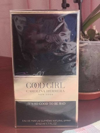 Парфюмированная вода Carolina Herrera Good Girl Supreme 50 ml.