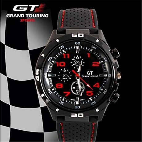 NOWY zegarek sportowy męski kwarcowy marki GT.