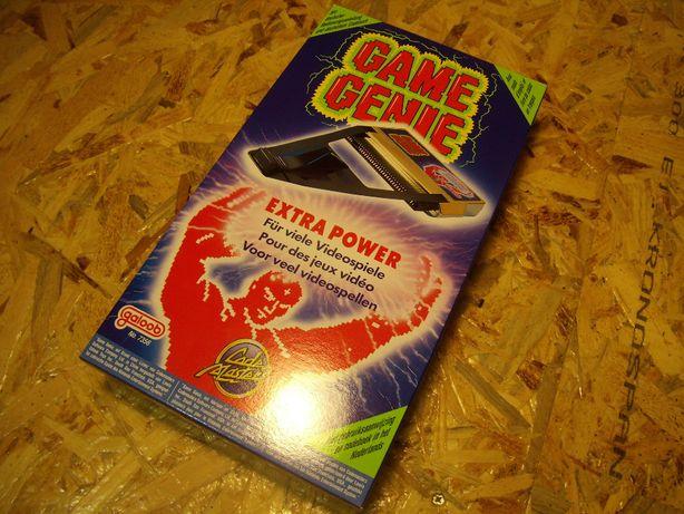 Game Genie Nintendo NES - NOVO - portes grátis